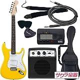 SELDER セルダー エレキギター ストラトキャスタータイプ ST-16/YW 初心者入門ベーシックセット