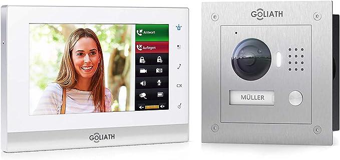 Goliath 2 - Videoportero IP con aplicación para móvil, estación de ...
