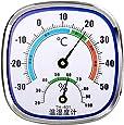 zrshygs Termómetro analógico Higrómetro Monitor de Temperatura Medidor de Humedad Interior Exterior