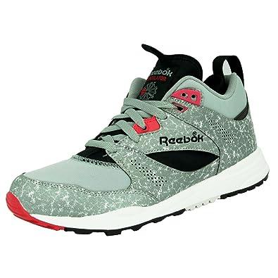 87e34d2476185e Reebok CLASSIC VENTILATOR MID BOOT AOG Grey Men Sneakers Shoes Hexalite   Amazon.co.uk  Sports   Outdoors