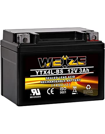 Mighty Max YTX9-BS 12V 8AH GEL Battery for SUZUKI LTZ250 250CC 12V 2Amp Charge