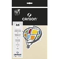 Papel Canson Color Marfim A4 180g/m² com 10 folhas