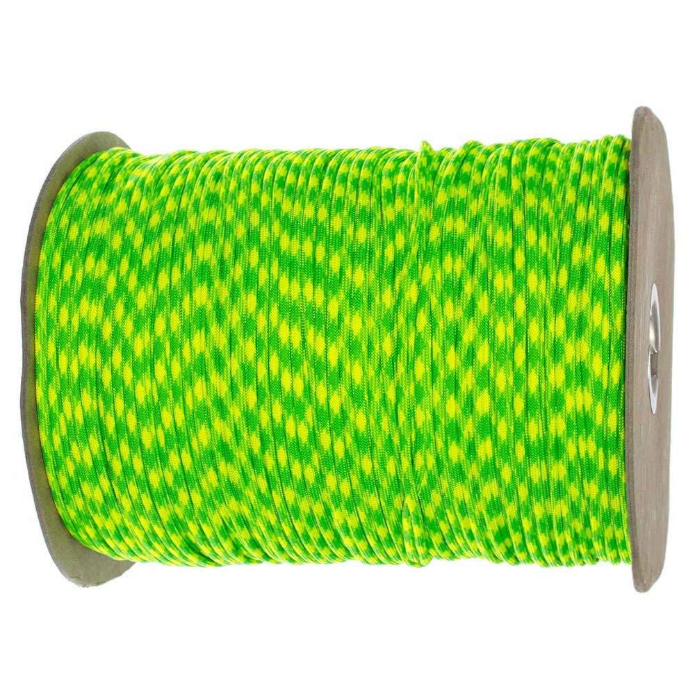 PARACORD PLANET Paracord (50+ Colors) - 1,000 Foot spools - 250 Foot spools - 100 feet Hank by PARACORD PLANET