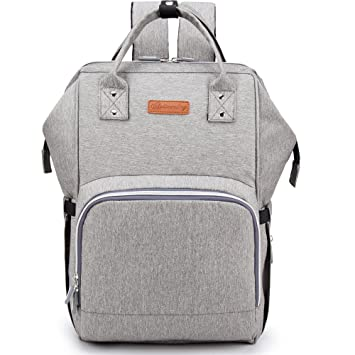 Amazon.com: Bolsa de Pañales – chambag mochila impermeable ...