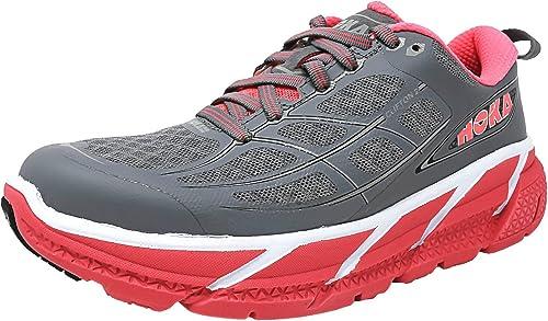 Hoka Clifton 2 - Zapatillas de Running para Mujer, Color Gris ...