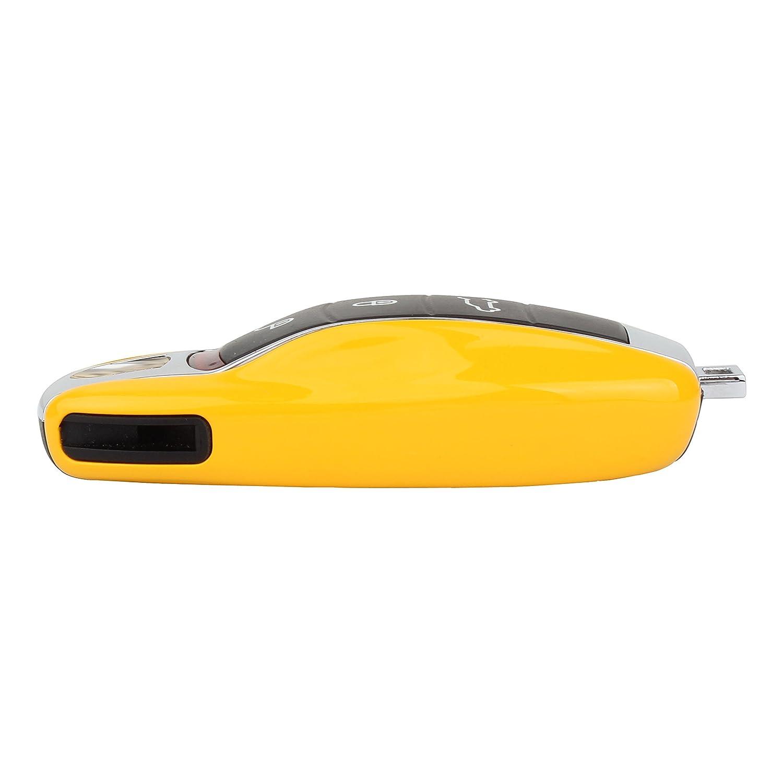 Jaune TOMALL Cl/é Shell pour Porsche Cayenne Gardes Remplacement pour Panamera Macan 911 Carrera Couverture de Cl/é