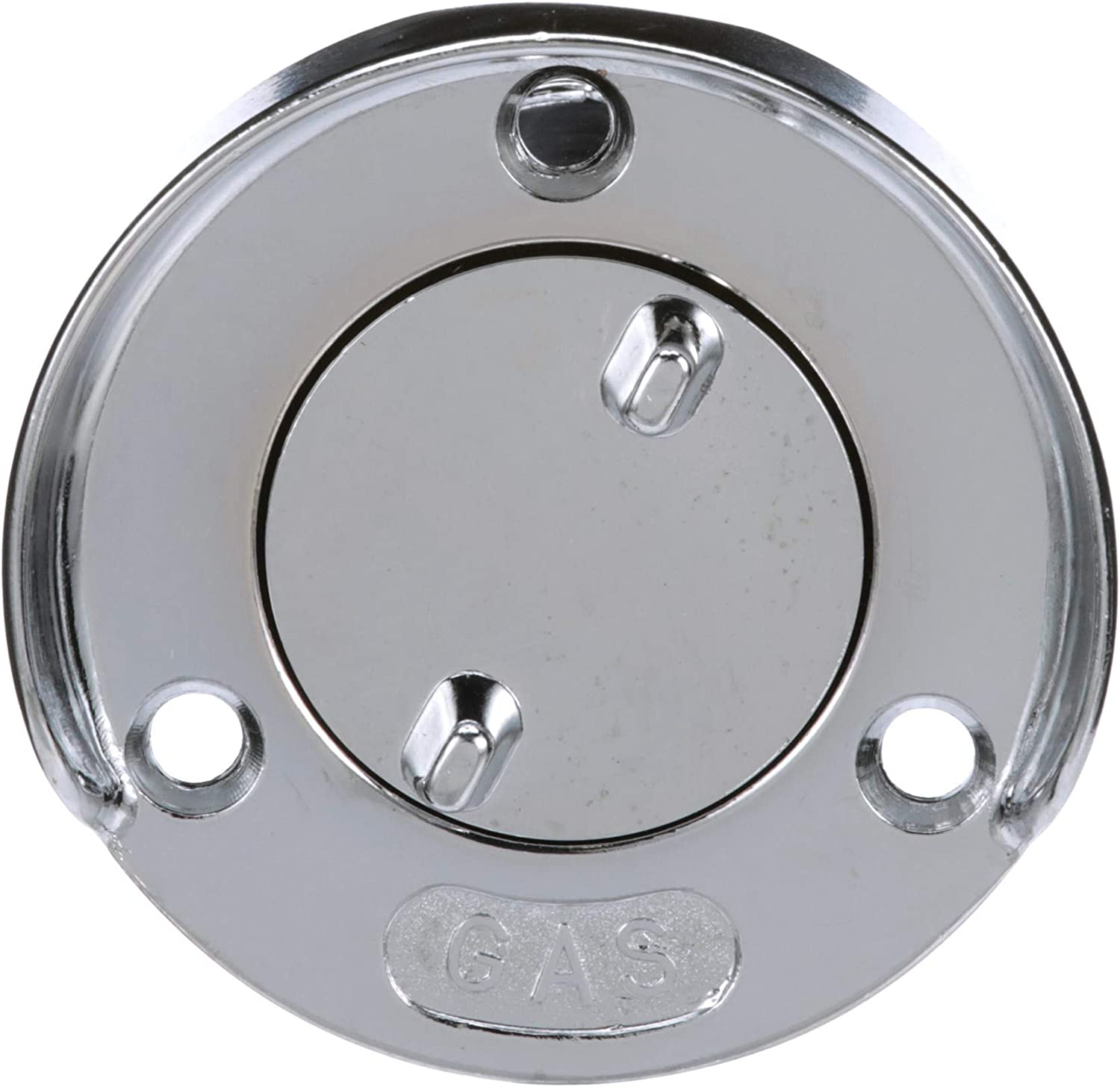 Chrome Plated Zinc Gas Deck Fill with Splash Guard /& Cap Chain SeaDog 351750-1