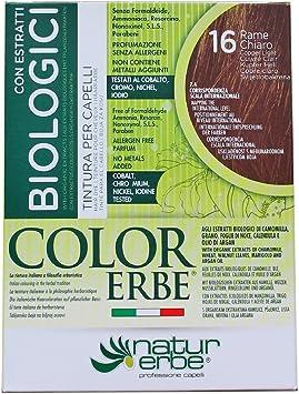 Color Erbe, Coloración permanente - 135 ml.