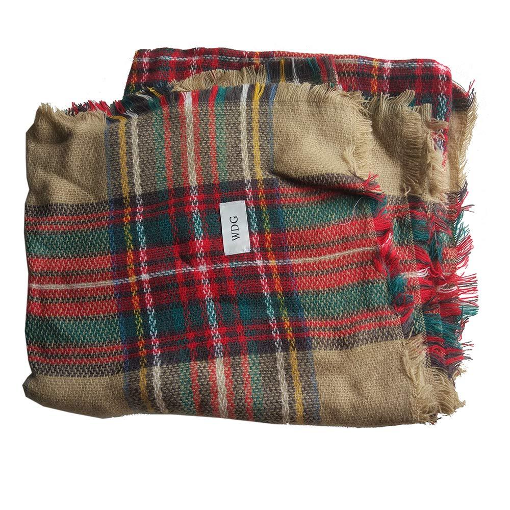 WDG Female soft classic luxury, elegant carpet lattice scarf