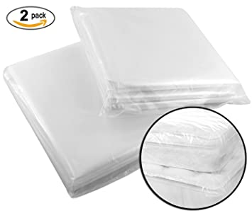 Sealable Heavy Duty Plastic Mattress Storage Bags (2 pack) Queen and Full Size  sc 1 st  Amazon.com & Amazon.com: Sealable Heavy Duty Plastic Mattress Storage Bags (2 ...