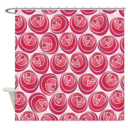 Image Unavailable Not Available For Color CafePress Mackintosh Roses Art Nouveau Shower Curtain