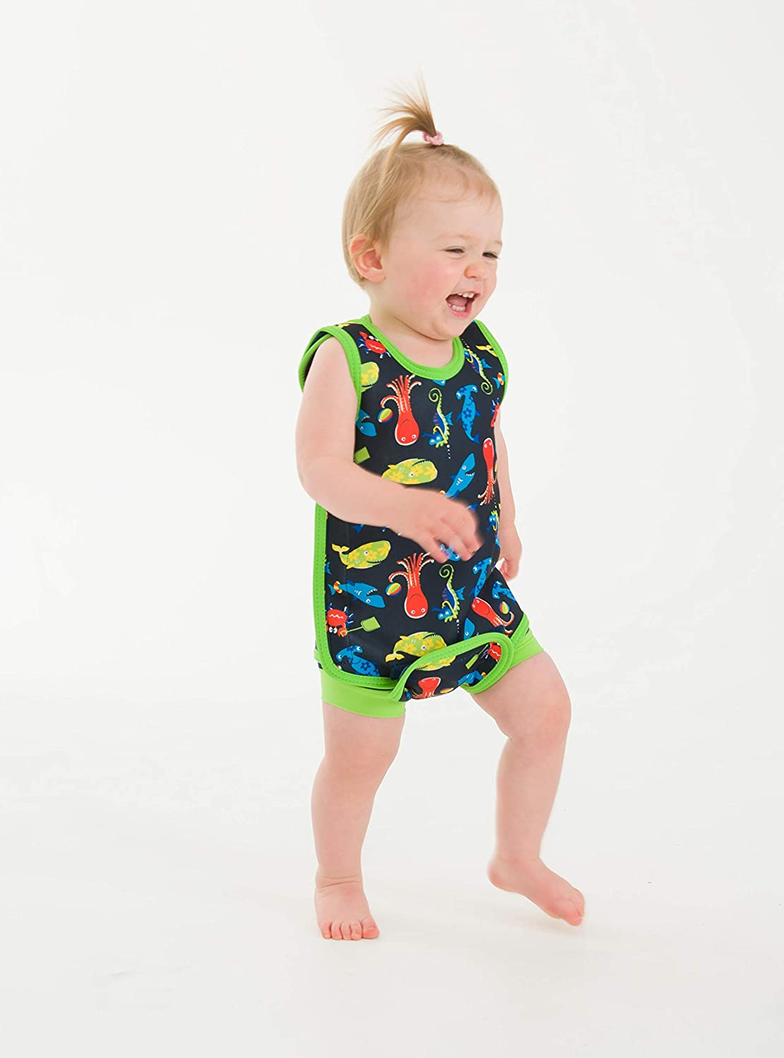 Fergal and Crabby, BWR20-12-18, NN20-09, OSSN22 One Size AquaNappy /& NeoNappy Cover Konfidence Baby Swim Set-Babywarma