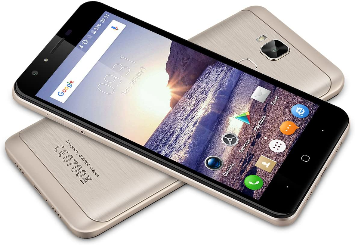 5.5 DOOGEE Y6 C 4 G Smartphone, Android 6.0, Marshmallow mt6737 ...