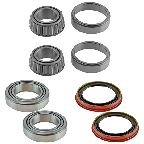 Front Inner Outer Wheel Bearing W Seal Pair Lh Rh Sides For Ford F150 2wd