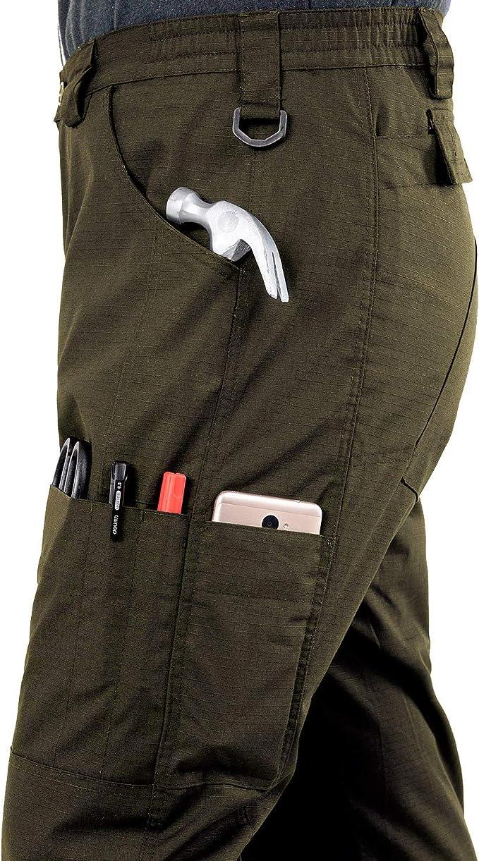 2021 Pantalones Impermeables Tacticos Mejorados Pantalones De Carga Tactica De Ripstop Pantalones De Senderismo Militares Duraderos Para Hombres Repelente De Agua Para Hombres Sobre Pantalon Pantalones Impermeables Ropa Impermeable Y De Nieve