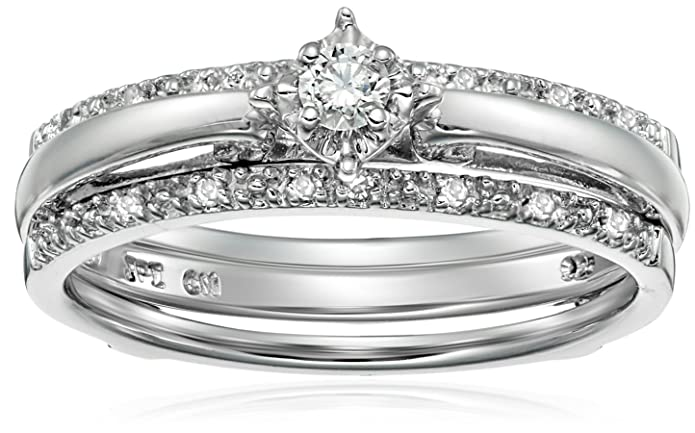 The 8 best diamond bridal sets under 200