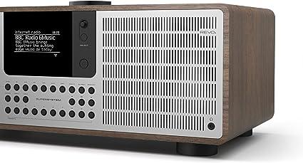 Revo With Aptx Bluetooth Streaming Dab Internet Radio And Spotify Access Walnut Silver Home Cinema Tv Video
