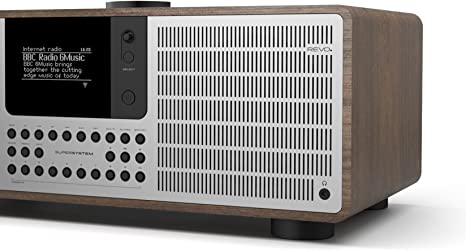 Revo With Aptx Bluetooth Streaming Dab Internet Radio And Spotify Access Walnut Silver Home Cinema Tv Video
