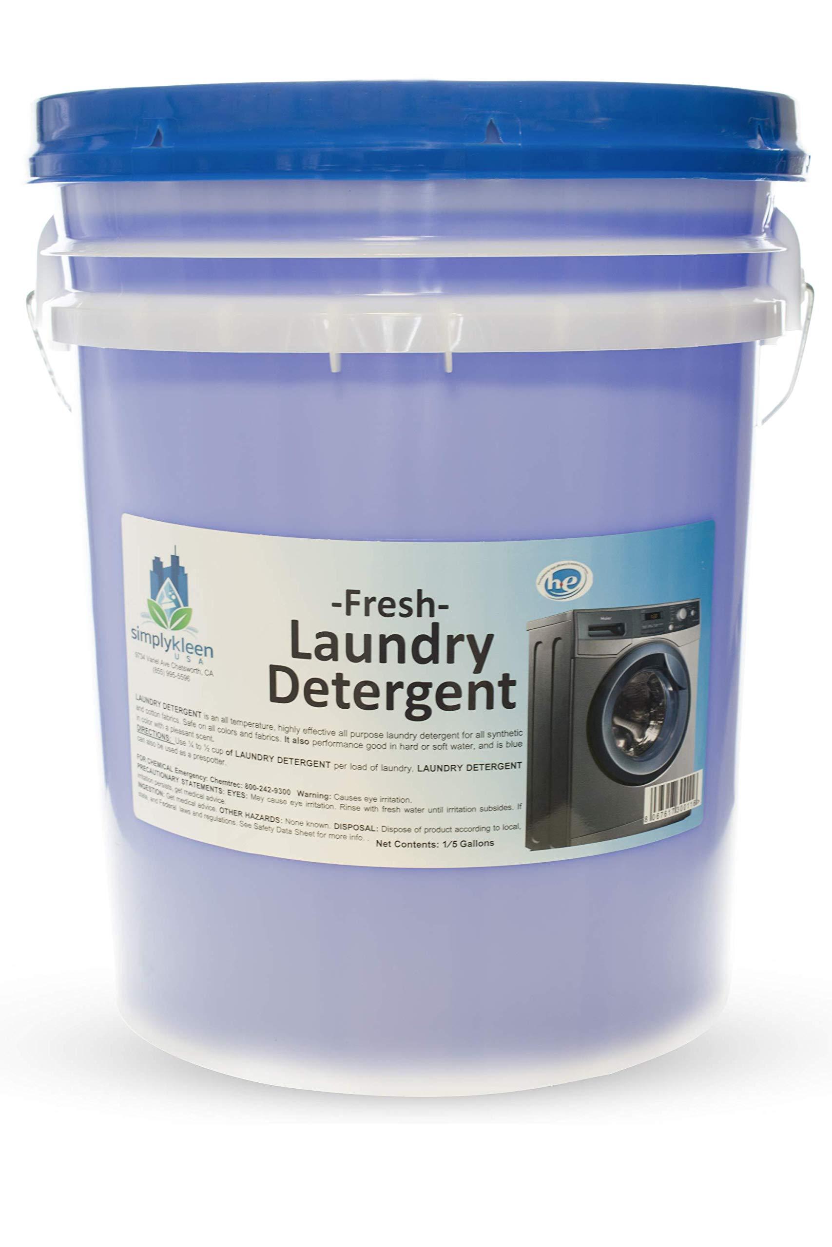 Simply Kleen Professional Multipurpose Liquid Detergent, 5 Gallon Pail, 426 Loads