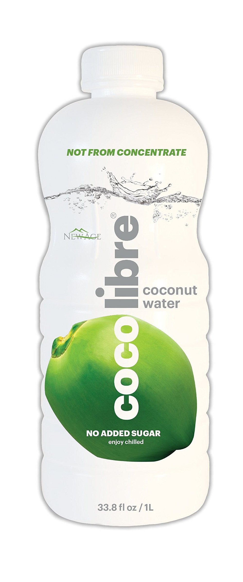 CoCo Libre Coconut Water, 1 Liter (Pack of 12)