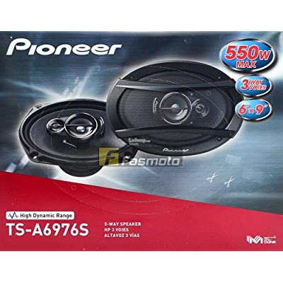 "Pioneer TS-A6976S A Series 6"" X 9"" 550 Watts Max 3-Way Car Speakers Pair with Carbon and Mica Reinforced Injection Molded Polypropylene (IMPP) Cone Construction: Home Audio & Theater"