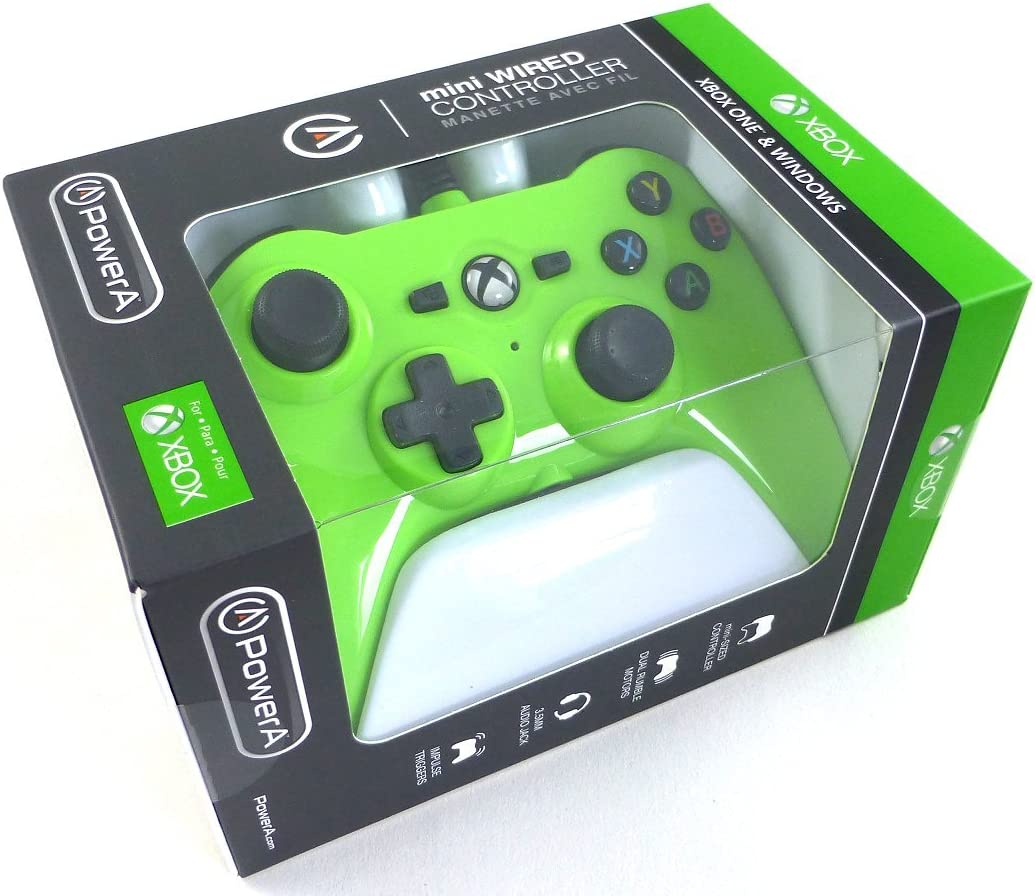 Amazon POWER A Wired Mini Controllers Green Xbox e