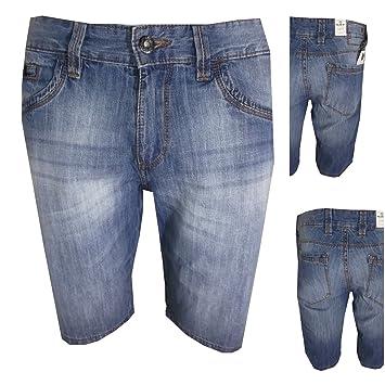 Unbekannt Guy Bermuda Jeans Herren Slim Vita Bassa Größe 46
