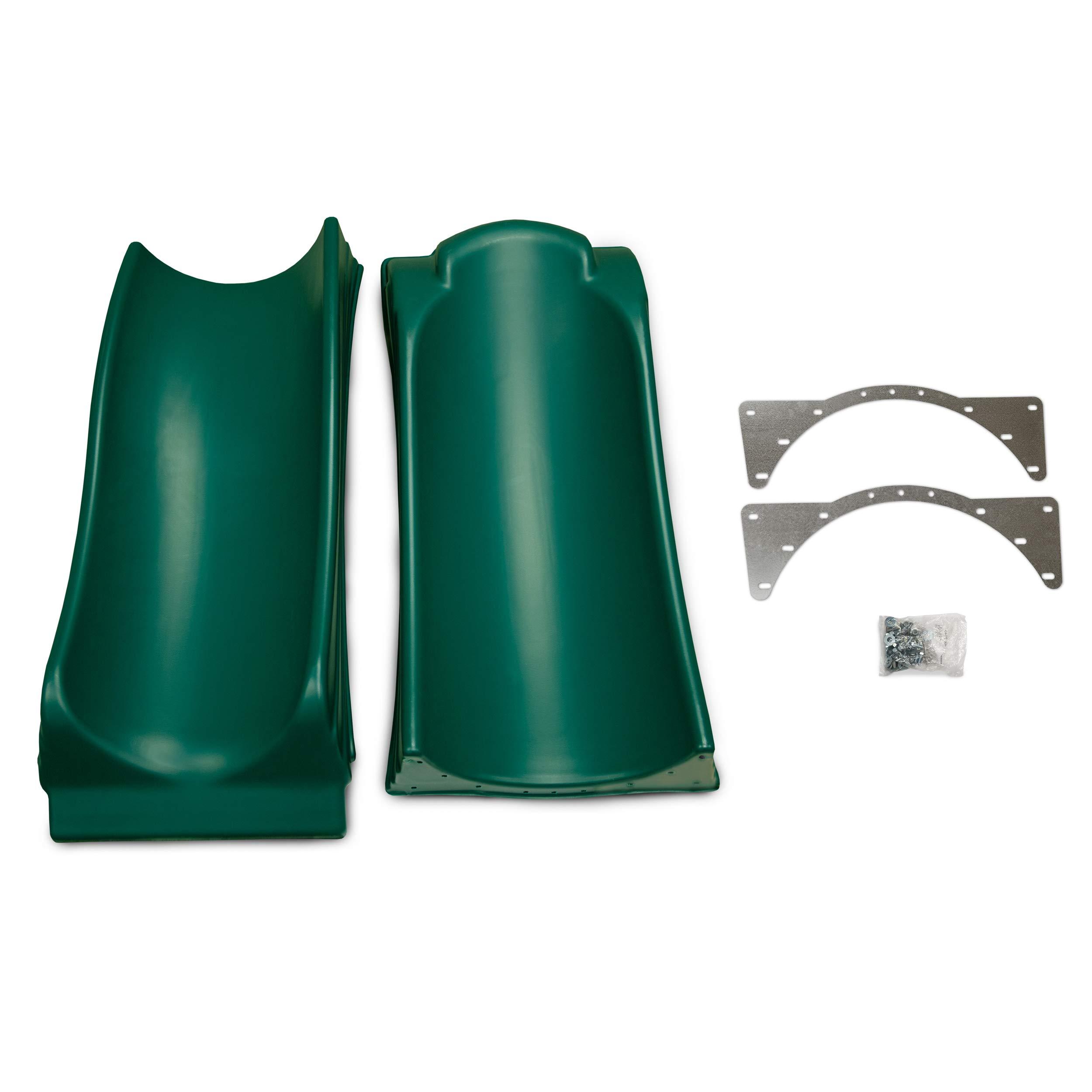 Swing-N-Slide WS 5033 Olympus Wave Slide Plastic Slide for 5' Decks, Green by Swing-N-Slide (Image #6)