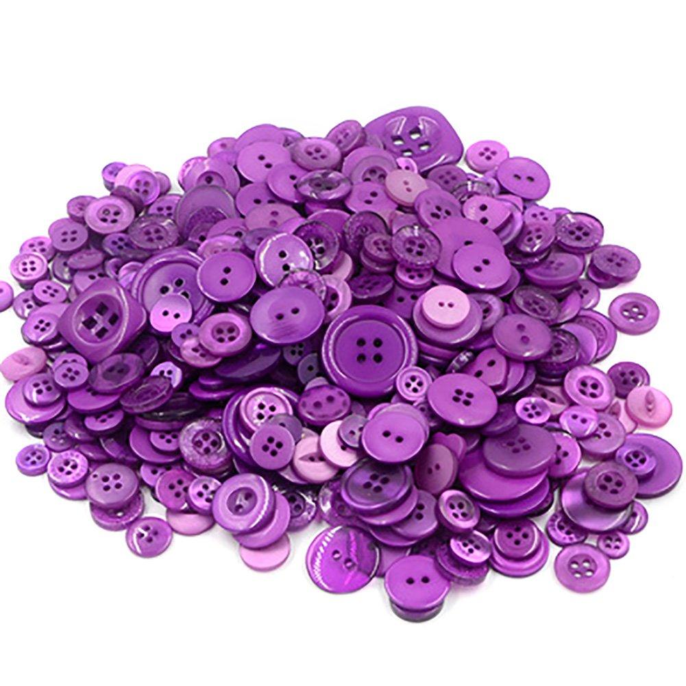 660X Phononey Botones de resina para costura redondos decorativos para /álbumes de recortes manualidades tejer ropa de beb/é amarillo 7-28MM