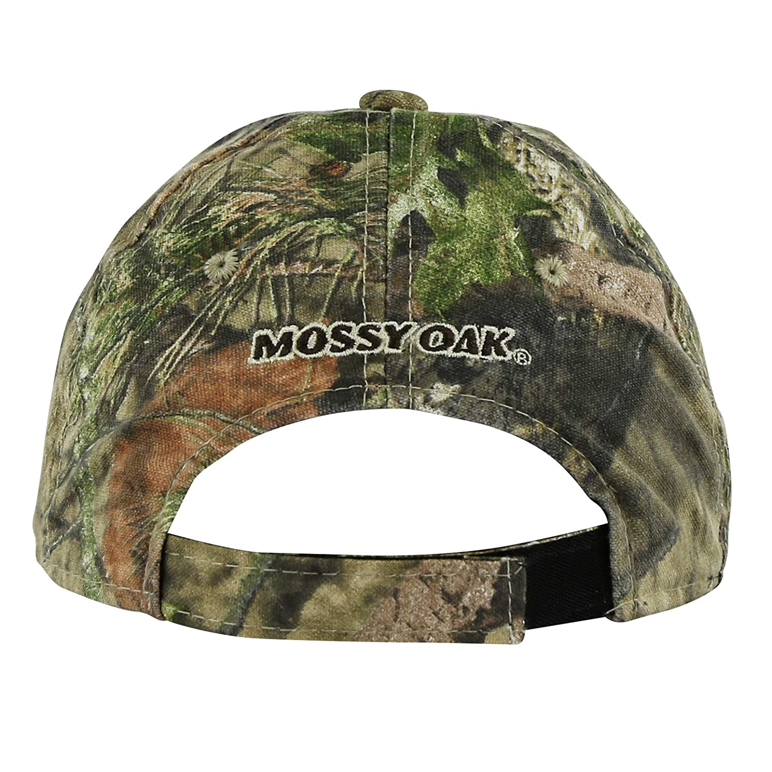 Mossy Oak Youth Full Camouflage Contrast Stitched Logo Cap in Multiple Camo Patterns