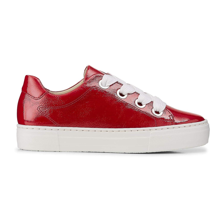ARA Damen Sneaker Courtyard rot Lack 39 12: Ara: