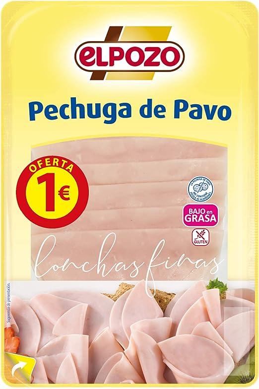 ElPozo Pechuga de Pavo L Finas, 100g
