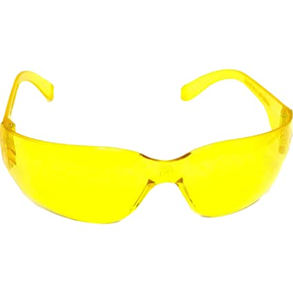 d3c8ab0f7d Safety Glasses Yellow Eye Protection Shooting Aviator - - Amazon.com