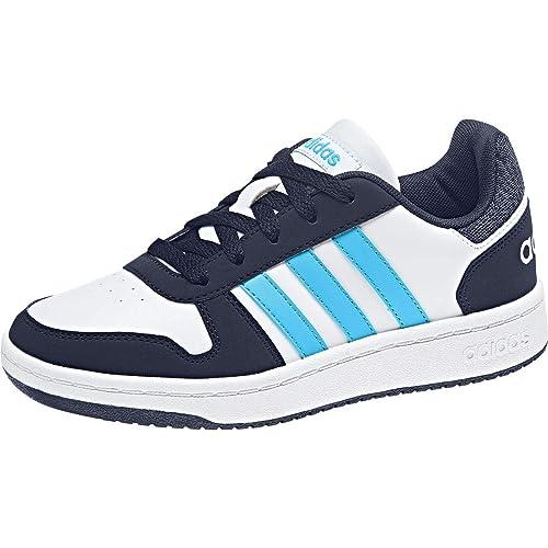 adidas Hoops 2.0, Chaussures de Basketball Mixte Enfant