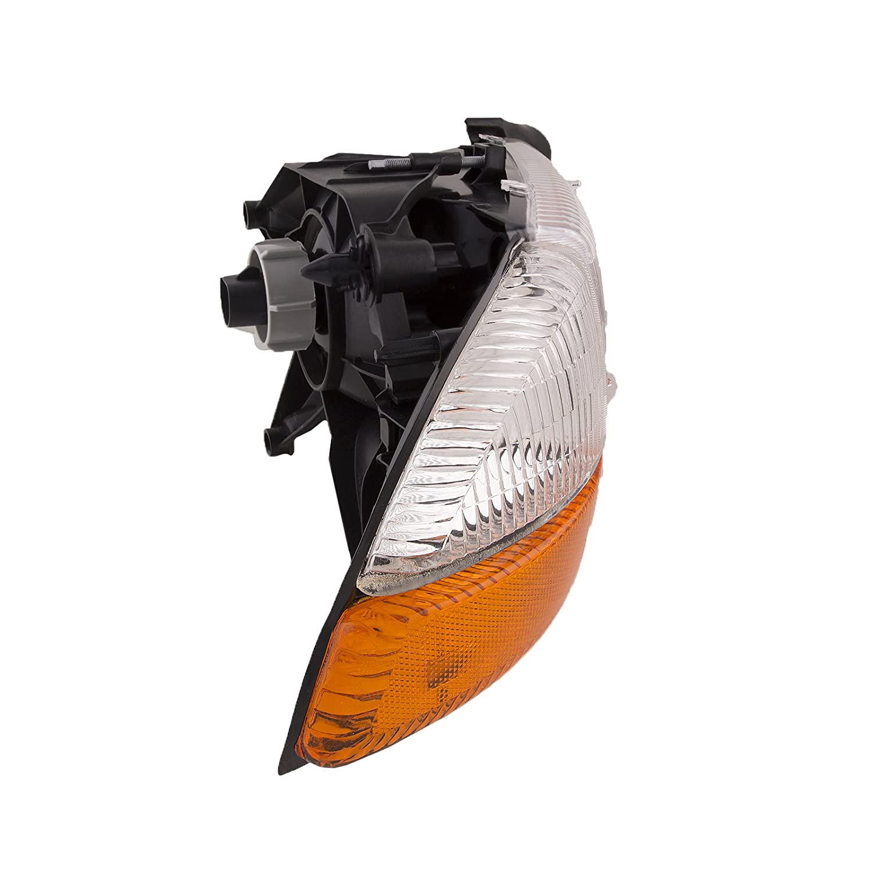 HEADLIGHTSDEPOT Halogen Headlight Compatible with Dodge Dakota Durango Includes Right Passenger Side Headlamp
