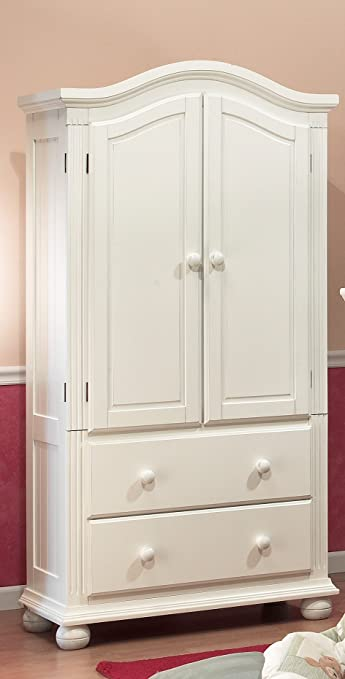 Amazon Com Sorelle Vista Armoire France White Nursery Armoires