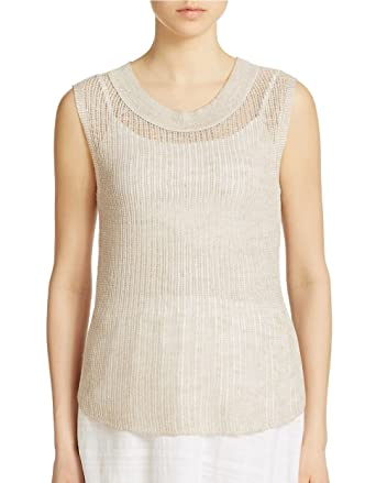44e56c4a05e Image Unavailable. Image not available for. Color  Eileen Fisher Organic  Linen ...