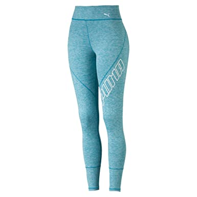 a7834b80 Puma Women's Yogini Logo 7/8 Tight Leggings: Amazon.co.uk: Clothing