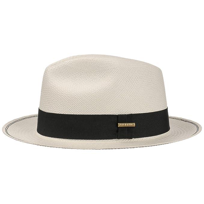 Stetson Sombrero Panama Braid Fedora by Panamásombrero de Paja Panamá   Amazon.es  Ropa y accesorios e6e2680c0b7