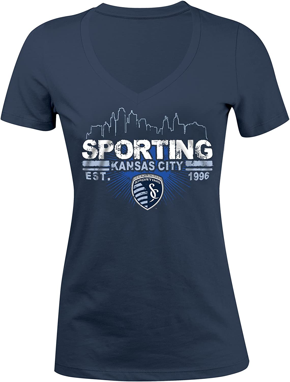 MLS Womens Short Sleeve V-Neck Tee