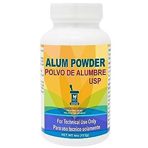 Alumbre en Polvo Alum Powder 4 oz