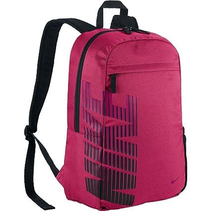 Nike Backpack Classic Sand, Vivid Pink/black/sprtfs, 50 X 25 X