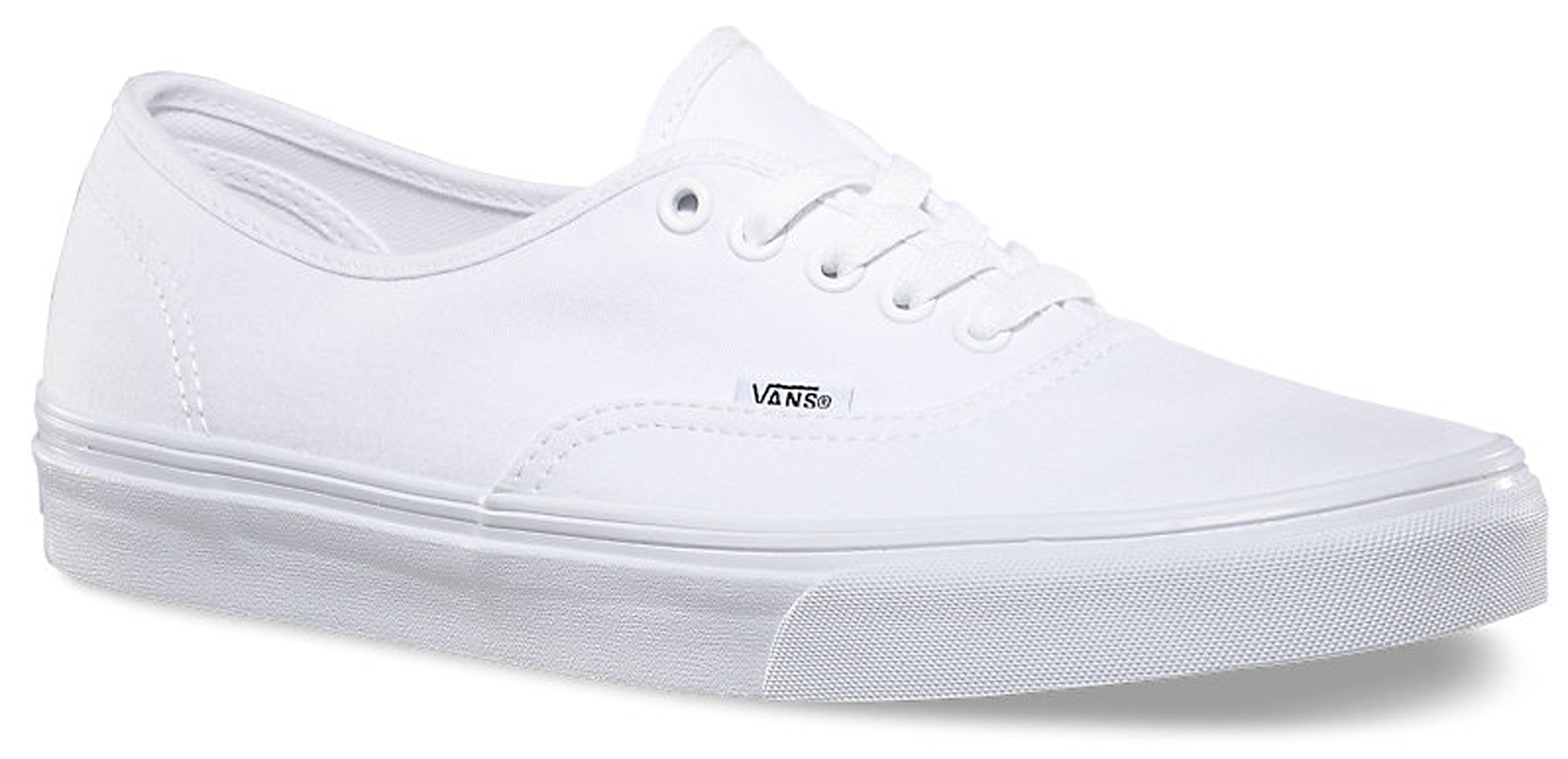 Vans Unisex Authentic True White Canvas VN000EE3W00 Mens 5.5, Womens 7 by Vans