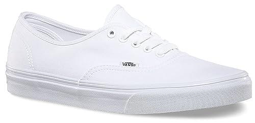 VANS Unisex Authentic True White Canvas VN000EE3W00 Mens 7, Womens 8.5