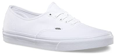 vans canvas white