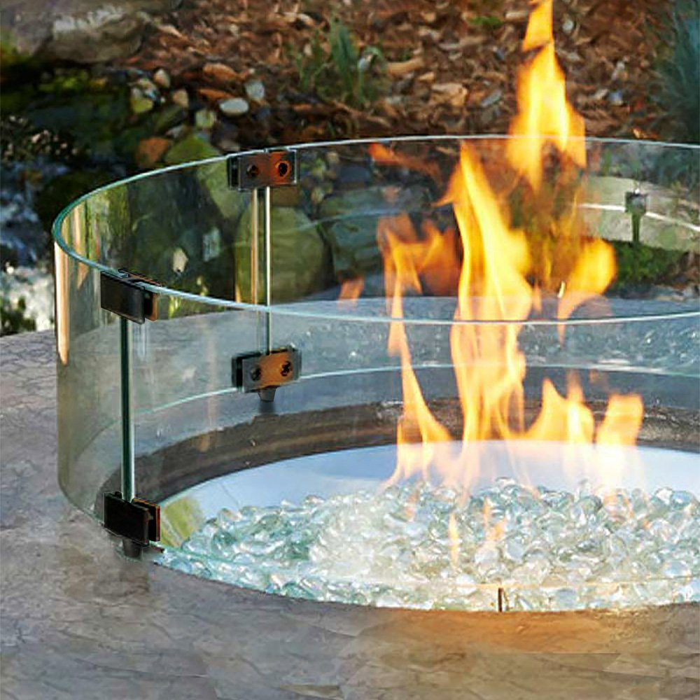 Fire Pit Windshield