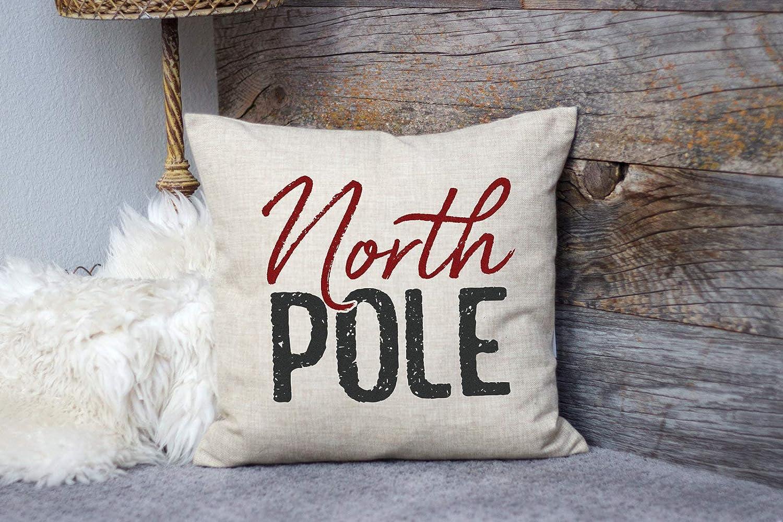 Thomas655 - Funda de Almohada para el Polo Norte, diseño rústico ...
