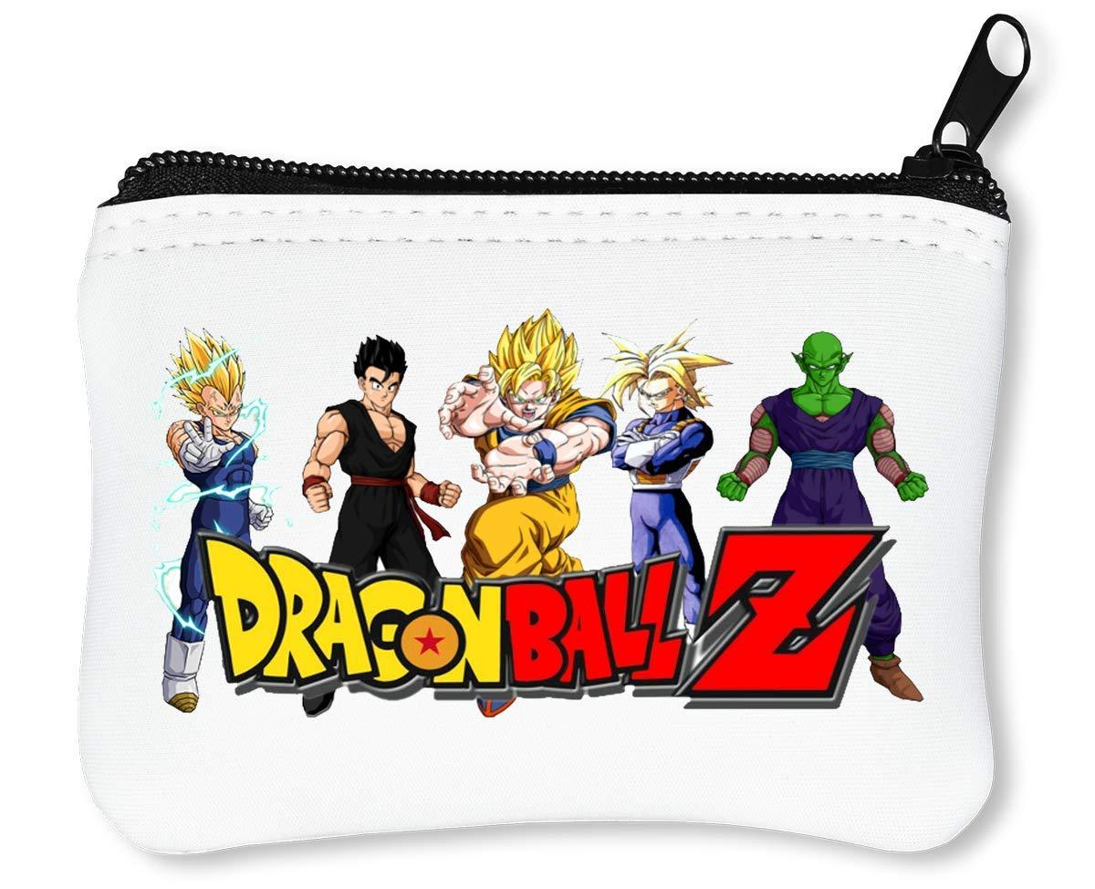 Dragon Ball Z Characters Billetera con Cremallera Monedero ...