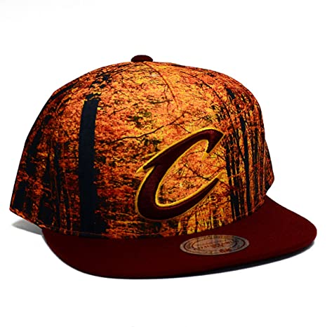 8bd1d15c0d39a Amazon.com   NBA Mitchell and Ness Forest Camo Snapback Hat (OSFM ...