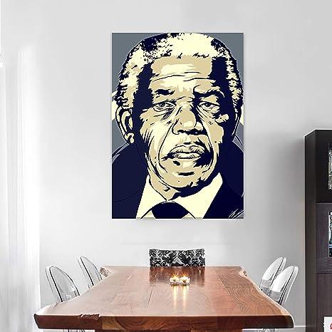 NELSON MANDELA  HUGE LARGE WALL ART POSTER PICTURE